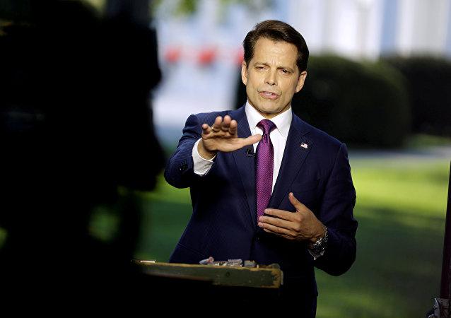 Anthony Scaramucci exdirector de comunicaciones de la Casa Blanca (archivo)