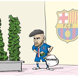 Neymar a-t-il payé lui-même 222 M de clause libératoire au Barça?