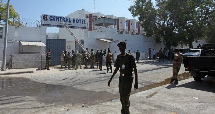 Forces de l'ordre somaliennes