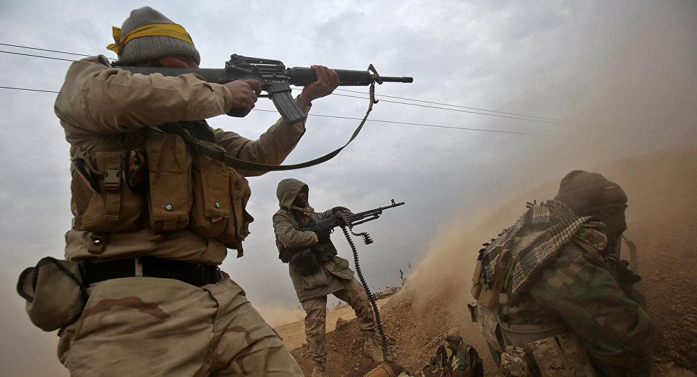 Combattants de Hachd al-Chaabi