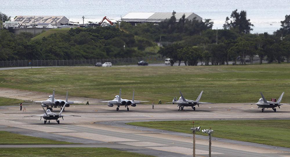 La base aérienne américaine de Kadena