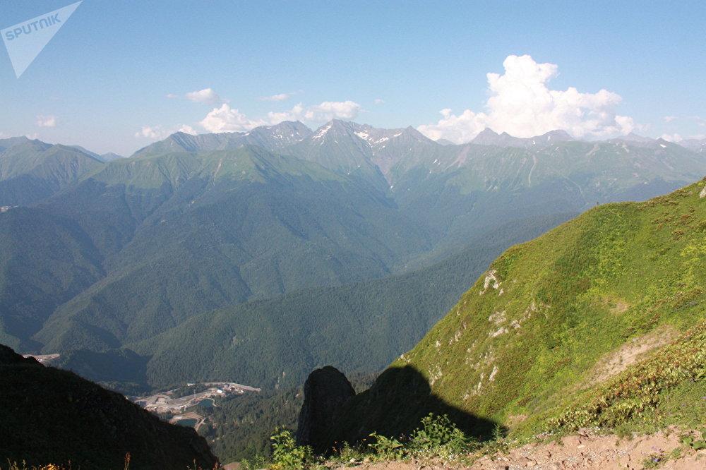 La chaîne du Grand Caucase