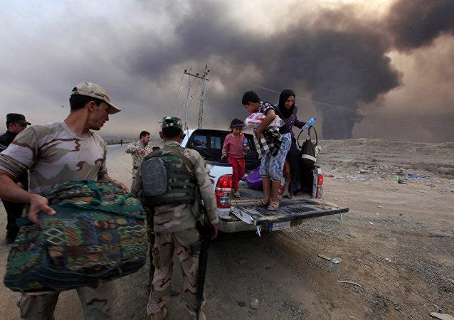 Des personnes déplacées en Irak (archives)