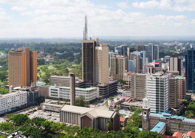 La capitale du Kenya, Nairobi