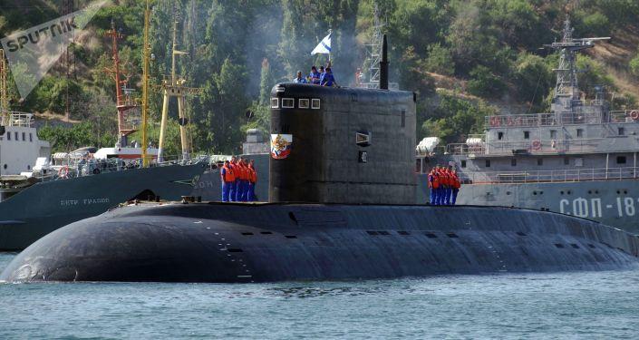 Un sous-marin à Sébastopol