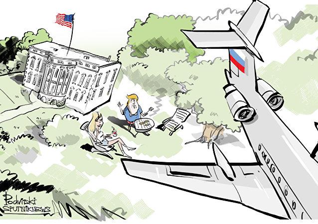 Traité Ciel ouvert: un avion militaire russe a survolé la Maison-Blanche