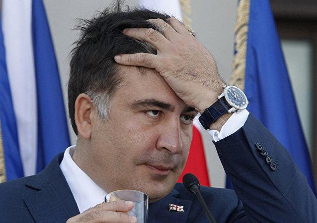 Géorgie : l'ex-président Saakachvili arrêté par contumace