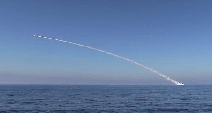 Un missile de croisière russe Kalibr