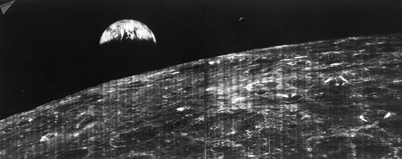 La NASA publie la première photo de la Terre vue de la Lune