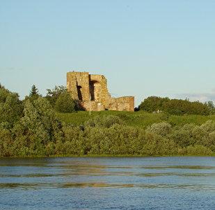 Les restes d'une ancienne place forte du prince Riourik