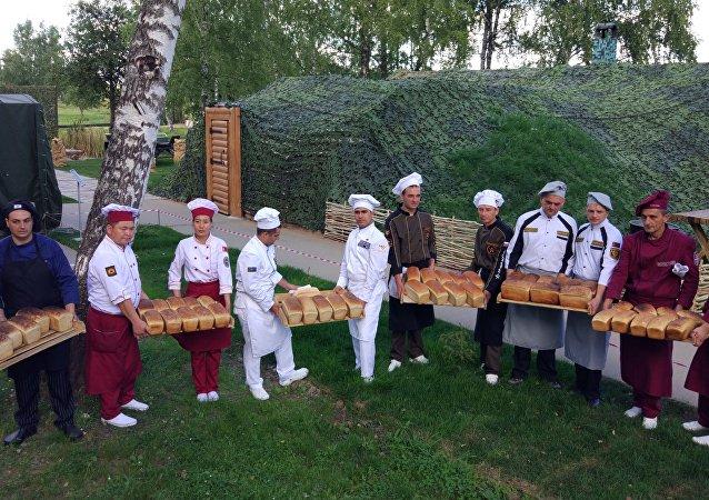 Les boulangers de six pays participé au concours de la Cuisine de campagne