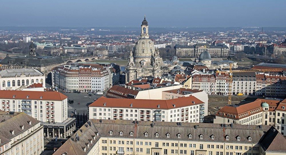 La ville allemande de Dresde