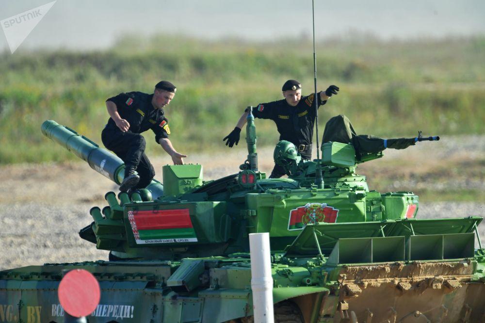 L'équipage de l'armée biélorusse