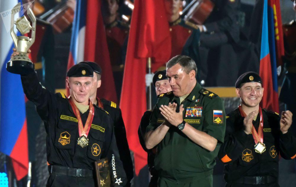 Le chef d'Etat-major général des Forces armées russes, le général Valery Guérassimov