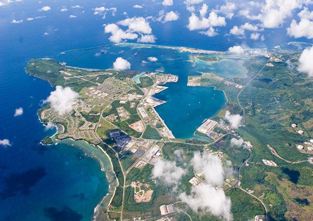 La base US sur l'île de Guam