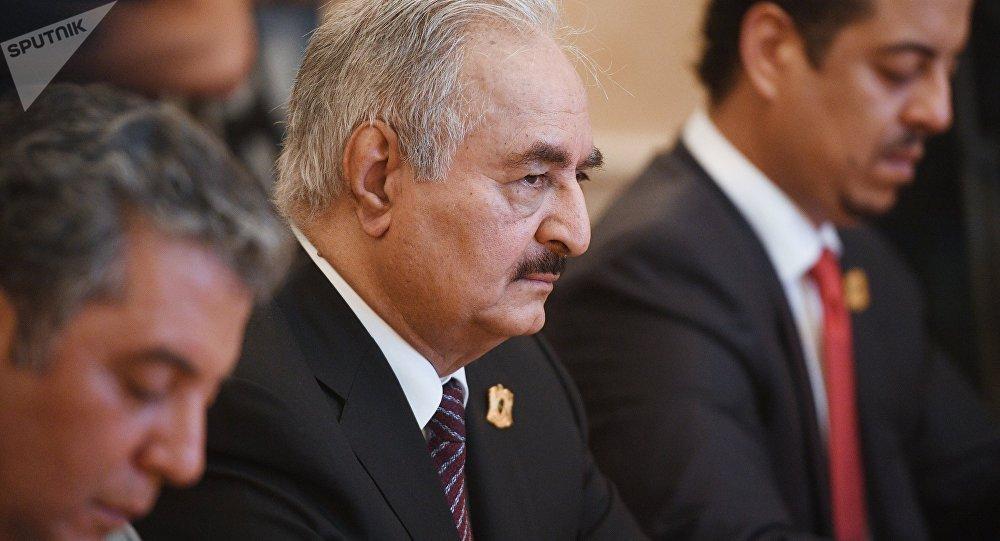 Le maréchal Khalifa Haftar