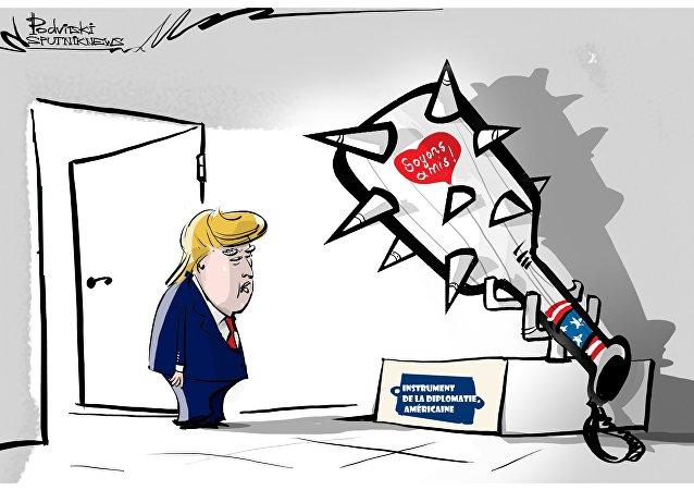 Instrument de la diplomatie américaine