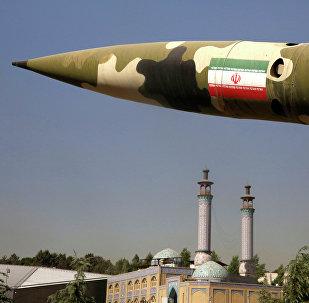Un missile iranien
