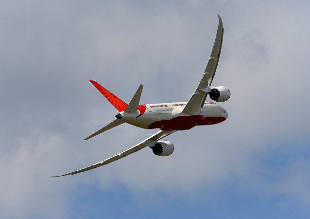 Air India Airlines Boeing 787 (File)