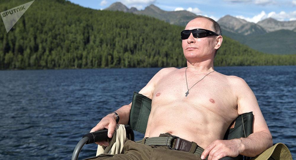 La pêche de Vladimir Poutine