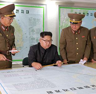Kim Jong-un a visité en secret une base à la frontière entre les deux Corées