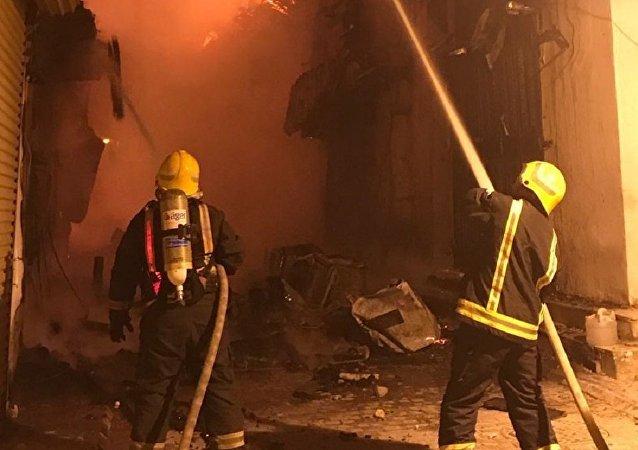 Arabie saoudite: un violent incendie se déclare dans la ville historique de Jeddah