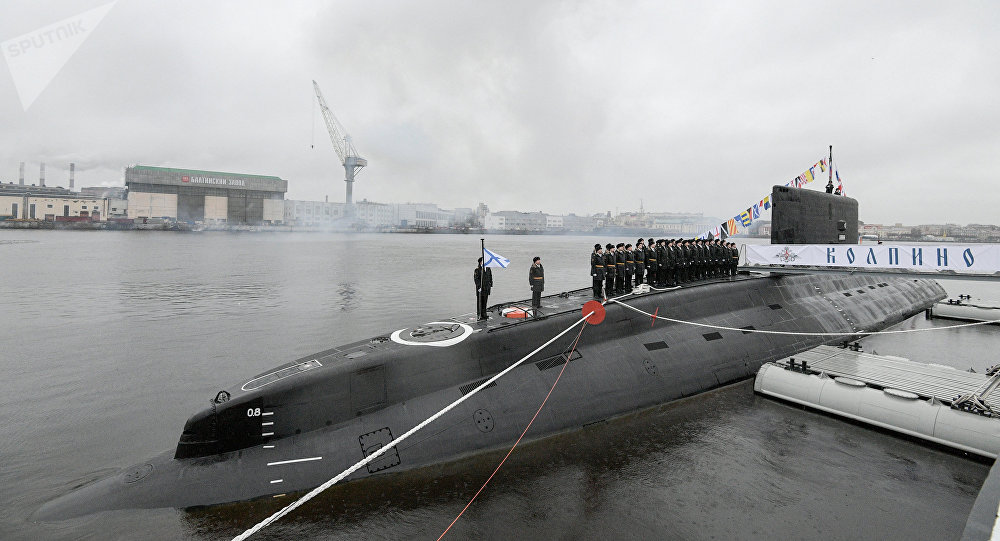 Sous-marin diesel-électrique russe Kolpino. Archive photo
