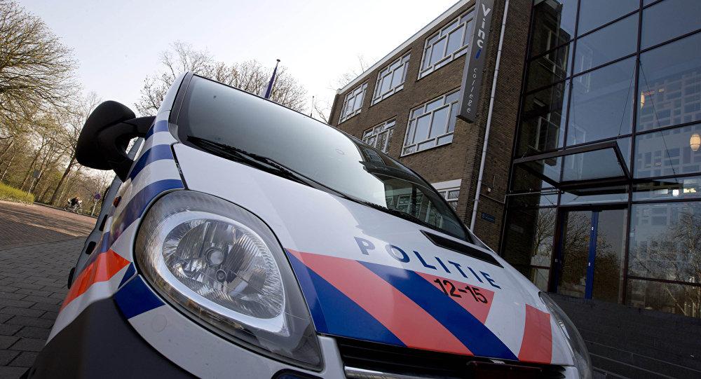 voiture de police néerlandaise