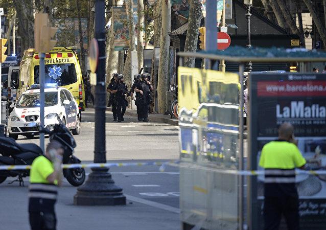 Fourgonnette meurtrière à Barcelone