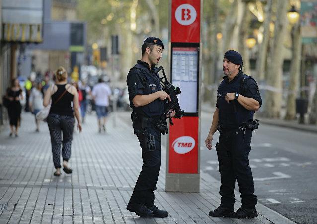 Les Ramblas, Barcelone