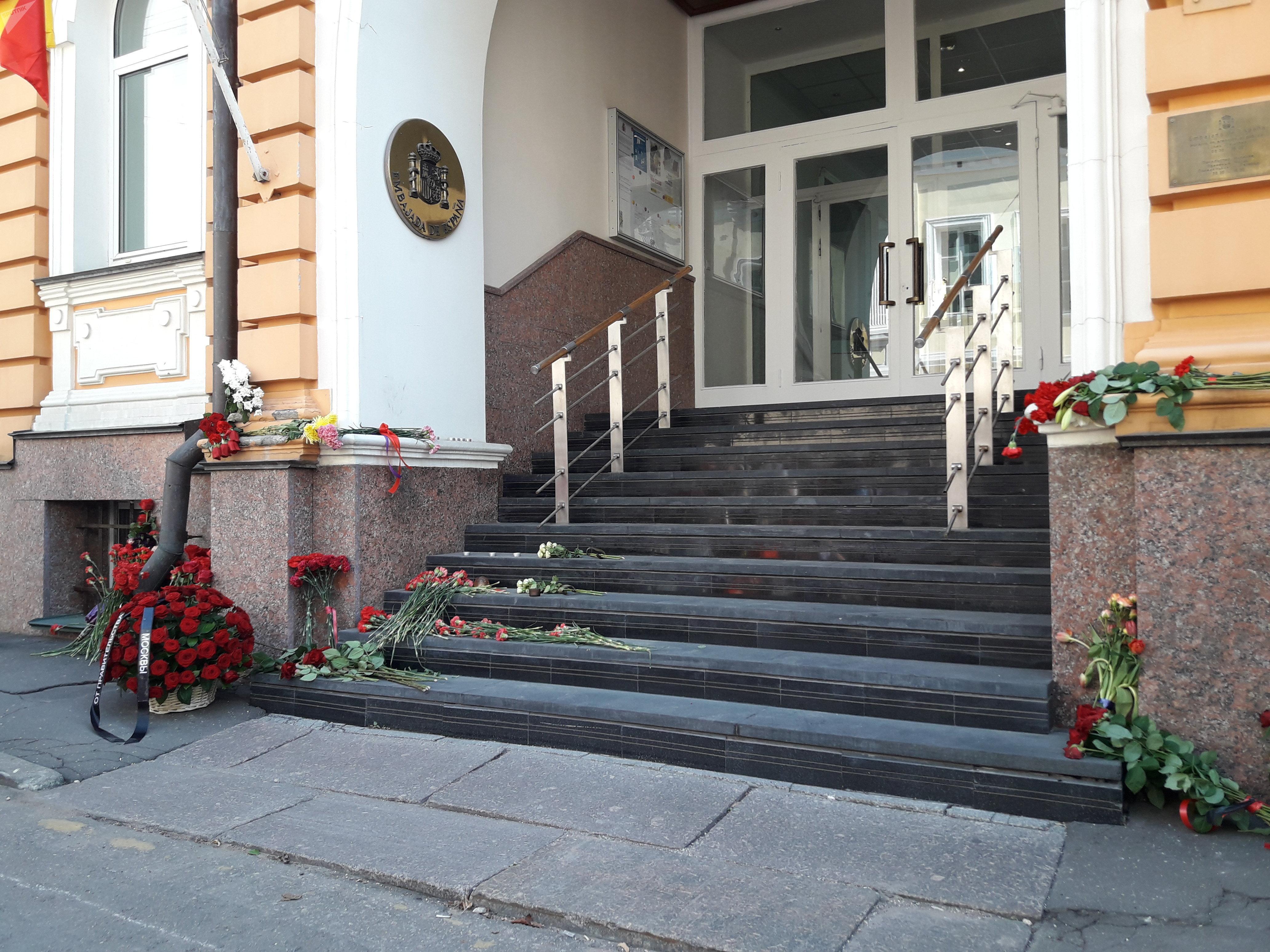 L'ambassade d'Espagne à Moscou