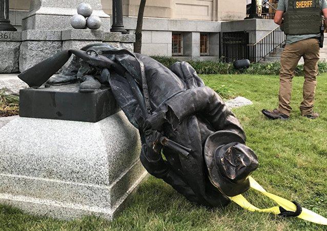 «Guerre des monuments» aux USA