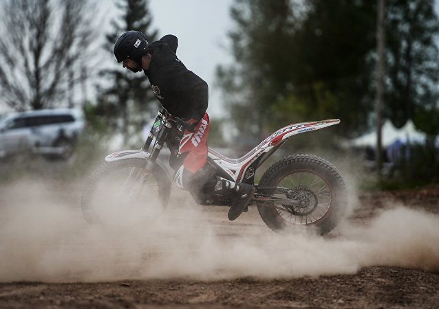Un biker. Image d'illustration