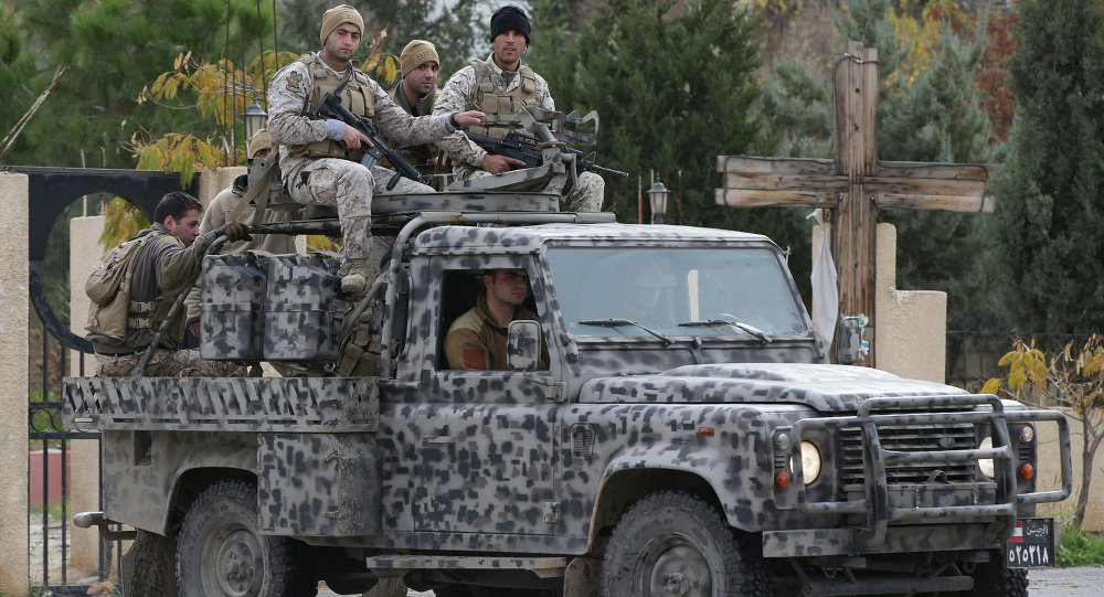 L'armée libanaise à Baalbek (image d'archives)