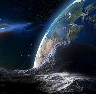 Астероид, направляющийся к Земле