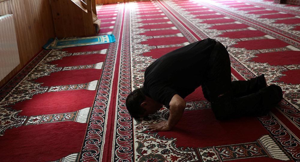 Un musulman en prière