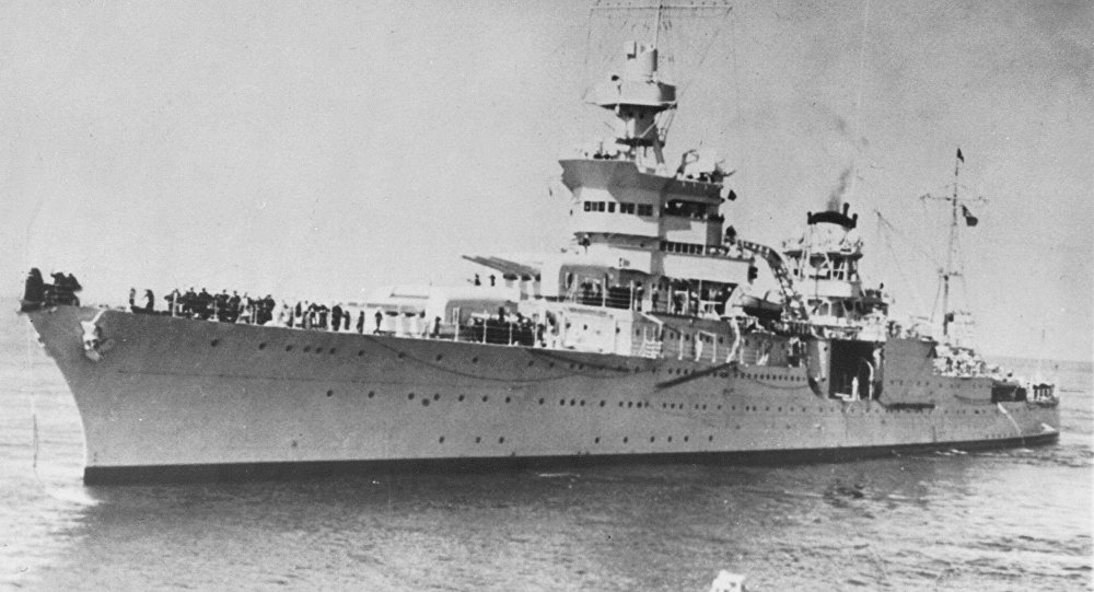 Un croiseur US coulé en 1945 retrouvé dans l'océan Pacifique