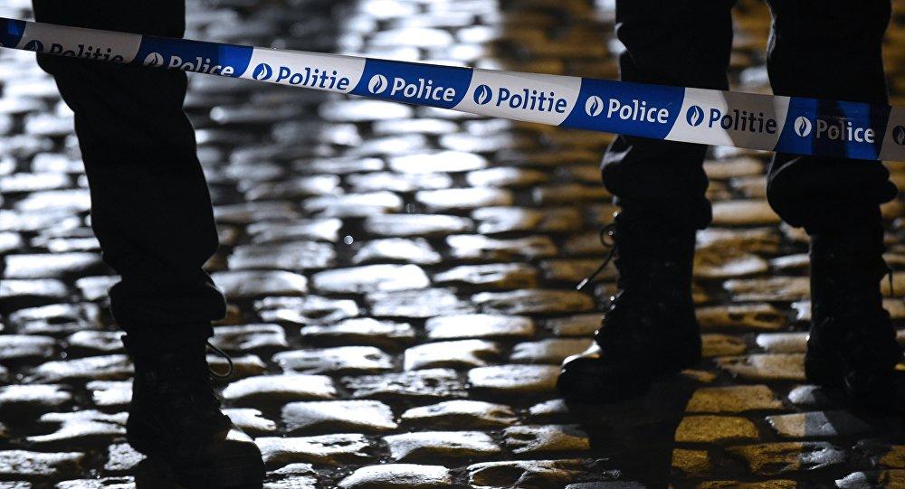 Des policiers belges. Archive photo