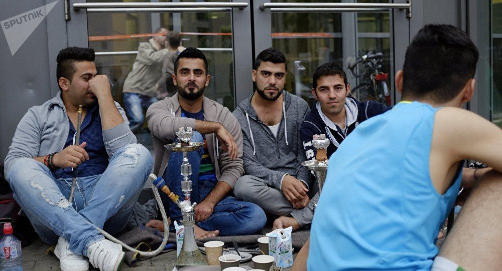 Des réfugiés en Allemagne