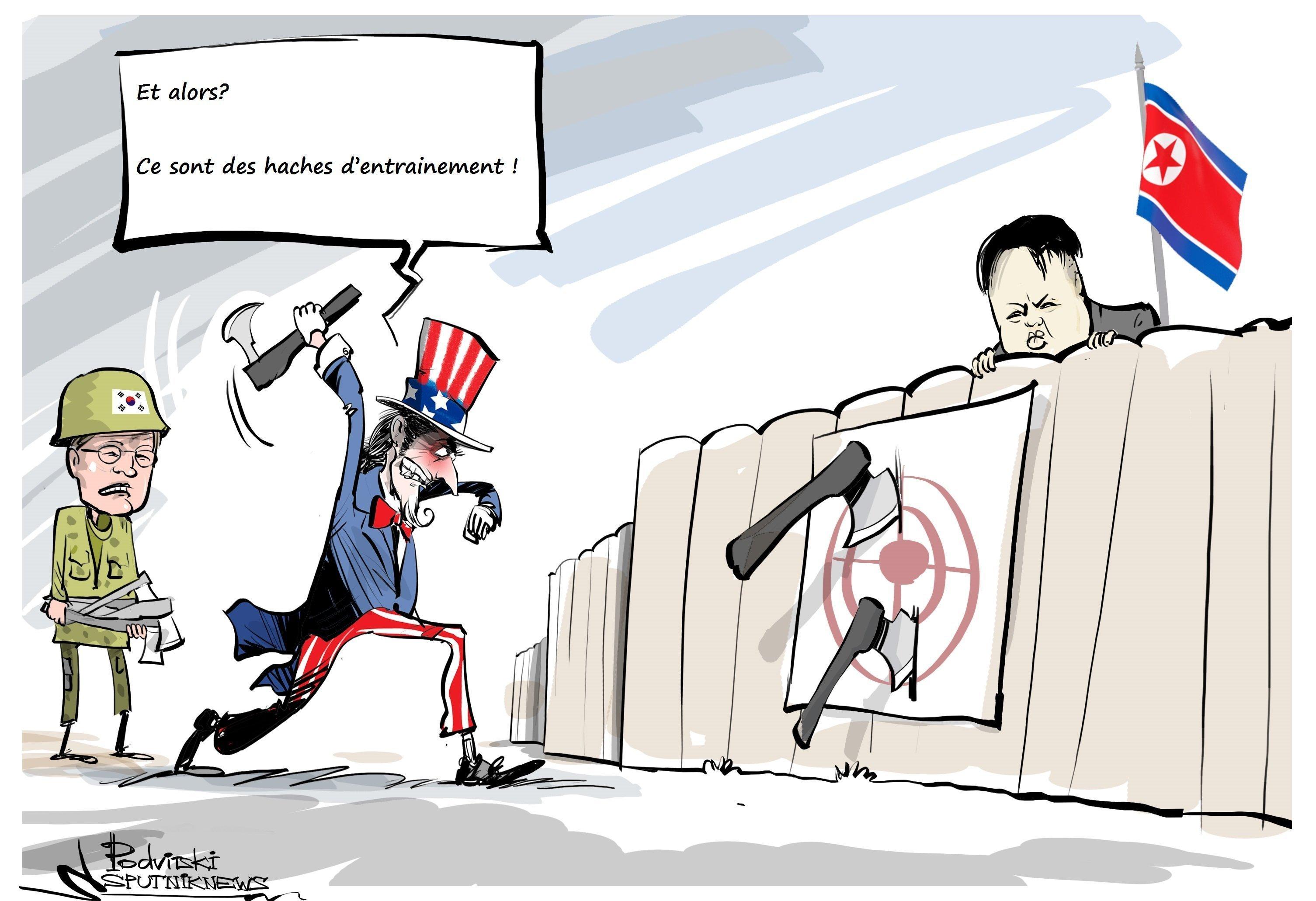 En pleine tension avec Pyongyang, Séoul et Washington ...