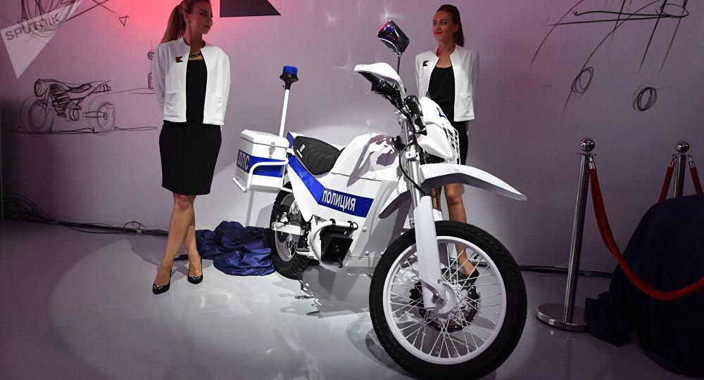 La moto électrique de Kalachnikov