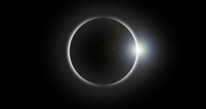 Une éclipse solaire totale