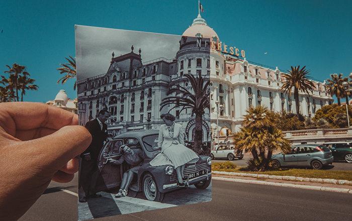 Une fenêtre sur le passé: des photos historiques des villes du monde
