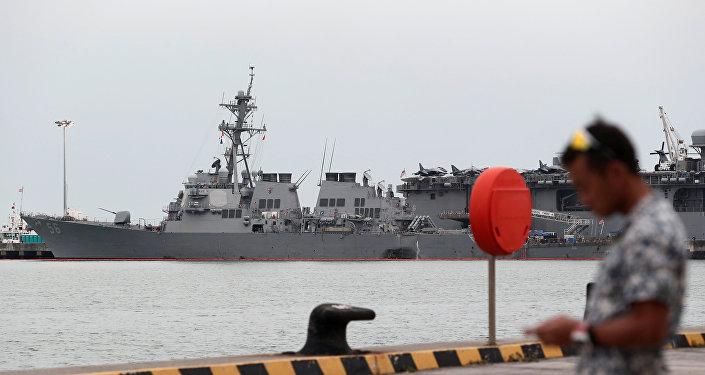 Singapour: Corps des marins américains retrouvés dans l'USS John McCain