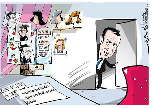 la facture de maquillage d'Emmanuel Macron