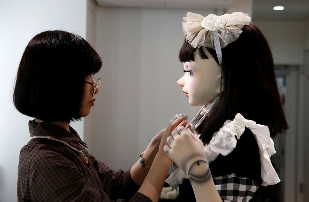 Plus qu'un jouet: une poupée mannequin made in Tokyo!