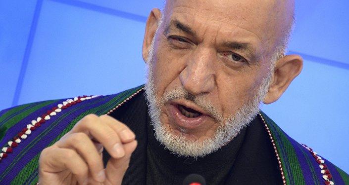 L'ancien président de l'Afghanistan Hamid Karzaï