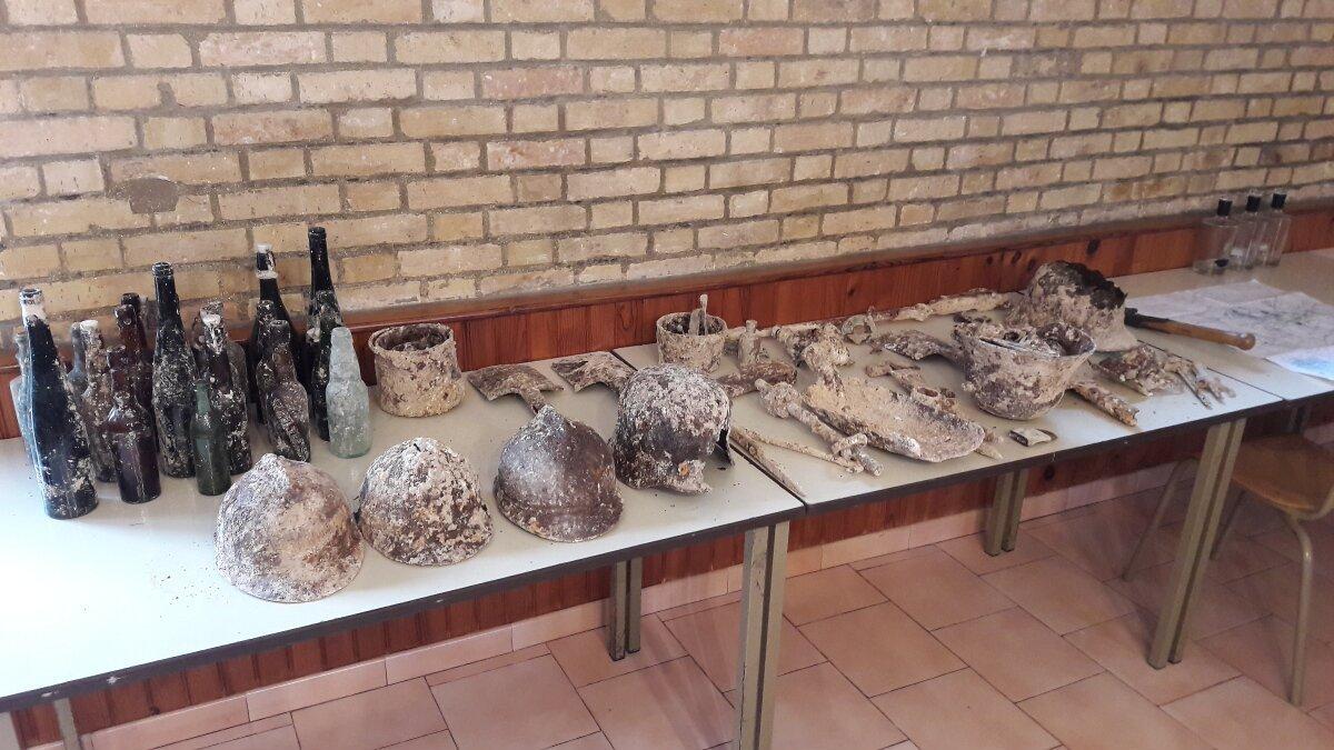 Во Франции найдены останки русского солдата времен Первой мировой