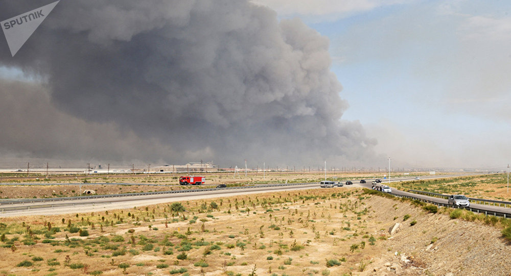Une explosion dans un dépôt d'armes en Azerbaïdjan