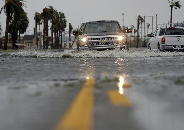 Inondations après l'ouragan Harvey dans le Texas